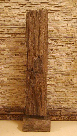 holzskulptur skulptur balken treibholz antikholz wur186 ebay. Black Bedroom Furniture Sets. Home Design Ideas