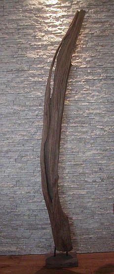 holzobjekt holzskulpturen treibholz deko schwemmholz baumstamm altes holz wur243 ebay. Black Bedroom Furniture Sets. Home Design Ideas