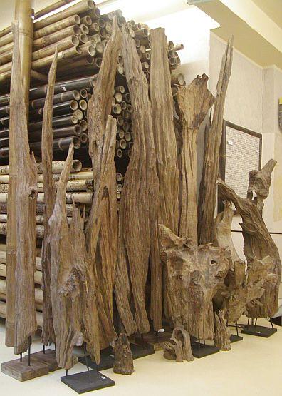 Bambus Depot Treibholz Treibholzer Holzobjekte Holzobjekt