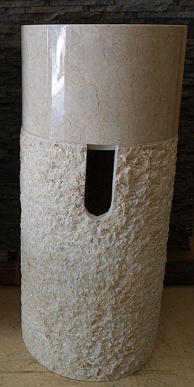 marmor naturstein waschs ule waschbecken waschschale handwaschbecken wa58 ebay. Black Bedroom Furniture Sets. Home Design Ideas
