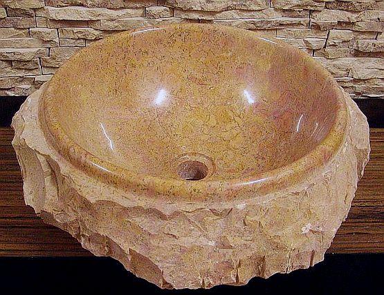marmor naturstein aufsatzwaschbecken waschbecken waschschale handwaschbecken w59 ebay. Black Bedroom Furniture Sets. Home Design Ideas