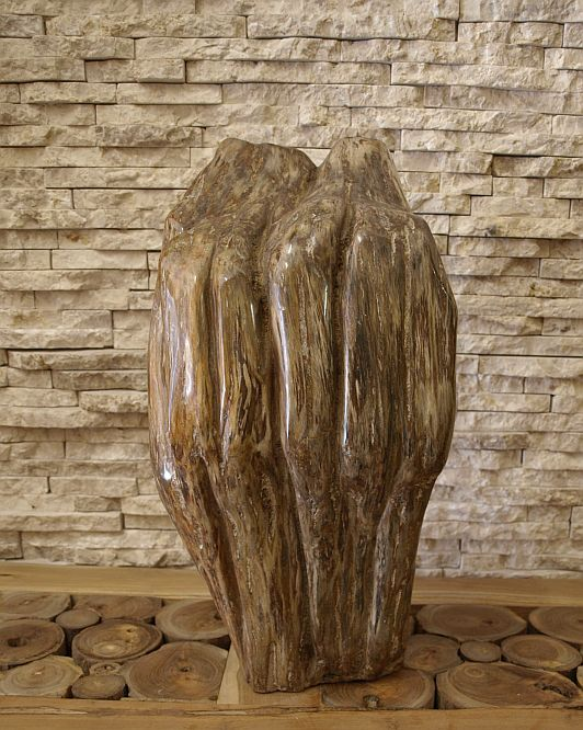 versteinertes holz fossiles holz poliert petrified wood steinobjekt 26 0kg ebay. Black Bedroom Furniture Sets. Home Design Ideas